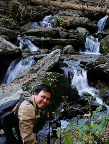 Photographing waterfalls in Shenandoah NP