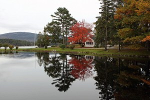 Fall morning in Somesville, ME