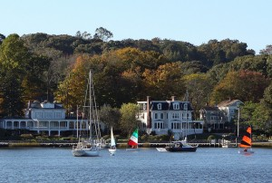 Sailing on the Mystic River