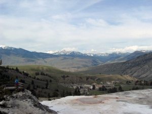 Yellowstone Country near Mammoth Hot Springs