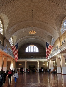 Main Hall at Ellis Island