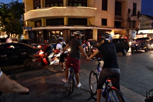 Night bike tour