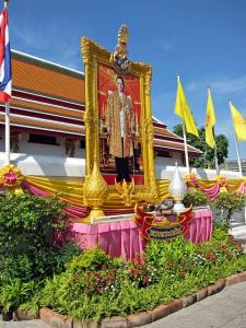 Poster of King Bhumibol Adulyadej