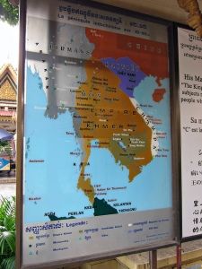 Khmer Empire map