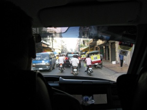 Leaving Phnom Penh