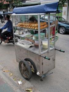 Num pang sandwich cart