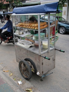 Num pang sandwich cart