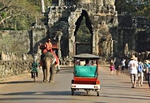 Angkor transportation