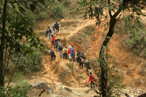 Hiking in Sapa