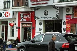 KFC in Hanoi
