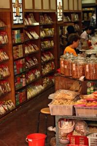 Chinese medicine store