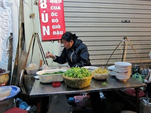 Roadside food vendor