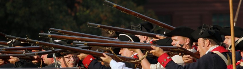 Patriots Firearms, Colonial Williamsburg, Virginia, USA